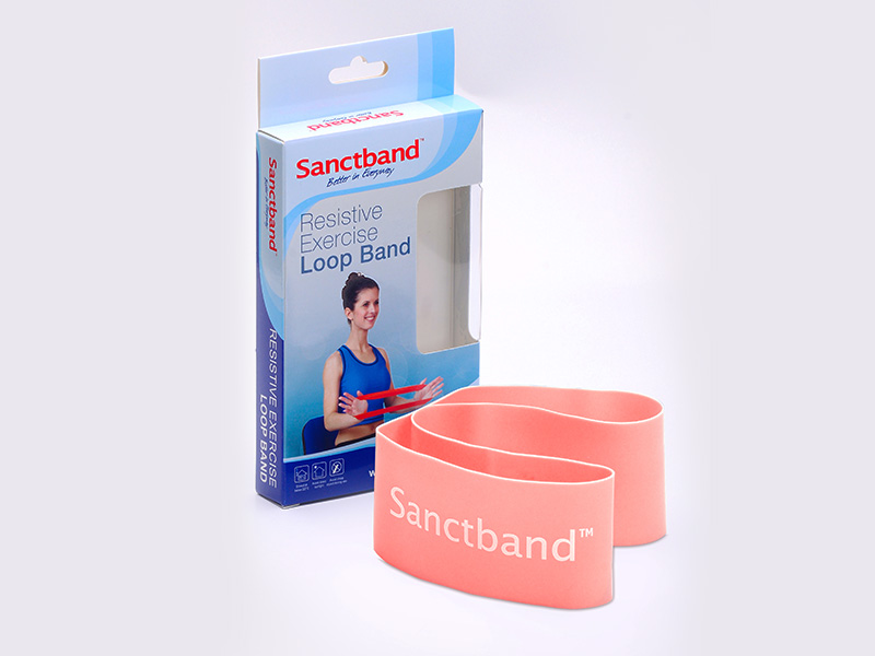 Resistive Exercise Loop Band Peach color