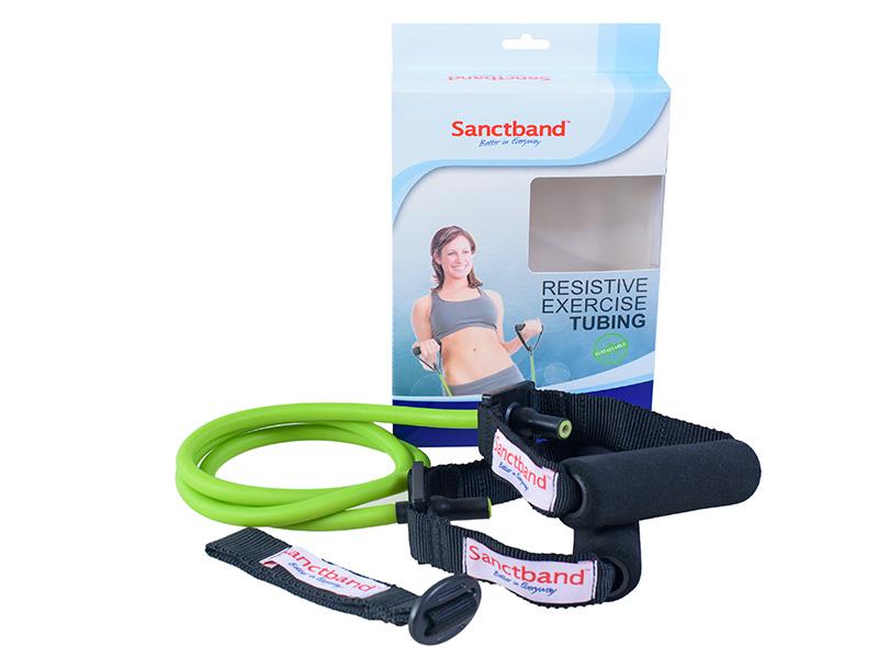 Sanctband Resistive Exercise Tubing Green color